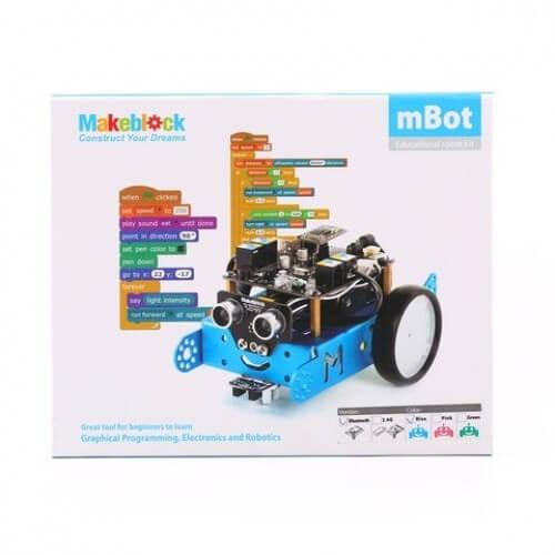 Робот конструктор Makeblock mBot v 1.1 Синий (версия Bluetooth) 90053