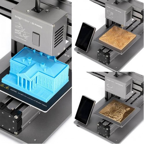 Модульный 3D Принтер 3 в 1 Snapmaker